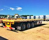 Трейлер контейнера Axles высокого качества 3 планшетный