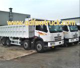 低価格アフリカのための使用されたFAWのダンプトラック12の車輪380HP 40tonsの優秀な状態の使用