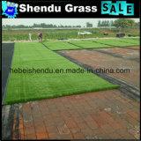 Altezza sintetica di standard 10mm dell'erba ignifuga dei pp