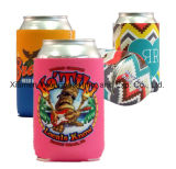 Fashion Promotion Customized Printed Hot Neoprene Pink Stubby Can Cooler avec Base