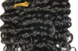 El pelo brasileño de la Virgen barata lía el pelo humano del 100%