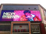 A Todo Color exterior P10 en la pantalla LED de la publicidad en la pared
