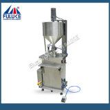Máquina de rellenar de la pequeña crema de la botella del Ce de Flk con los fabricantes del mezclador