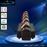 Rotação interminável 5 Chefes 4NO1 RGBW Rogue Cabeça Móvel LED Spot Bar Club Light