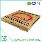Vakje van de Pizza van het Karton van het Document van de Douane van de Fabrikant van Shanghai het Embleem Afgedrukte