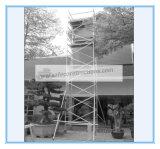 Échafaudage mobile sécurisé Ce passé en aluminium pour décoration