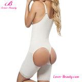 Erotic Nude Abierto Abierto Cremallera Cintura Trainer Levantar Pantalones Faja Shapewear