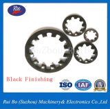 En acier inoxydable ou en acier au carbone j6797DIN dents internes Les rondelles/des pièces de machines