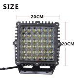 Schwarzes 6500k quadratisches LED fahrendes Licht der Qualitäts-für Autoteile