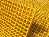 Reja moldeada fibra de vidrio enarenada antirresbaladiza para la superficie cerrada fuertemente