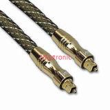 Câble chaud de Toslink de fibre de vente