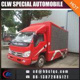 Camion mobile de la publicité extérieure du camion DEL de publicité de ventes d'usine de la Chine