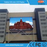 Pantalla de visualización de LED de la publicidad al aire libre de P10 RGB