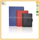 Kundenspezifisches weiches Notizbuch mit ledernem Notizbuch-Deckel