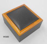 Kundenspezifische preiswerte schwarze Papieruhr-verpackenkasten