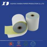 2ply weißes/Rosa-kohlenstofffreies Papier Rolls