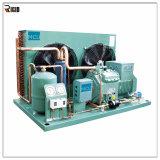 Ouvrir le type élément se condensant de compresseur de Bitzer de réfrigération semi-hermétique d'échangeur de chaleur
