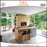 Móveis de gabinete de cozinha MFC modulares para projeto de hotel