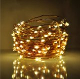 UL Transformer String Lights Long Ultra Mince String Copper Wire pour Seasonal Decorative Christmas