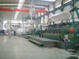 El equipo de aleación de aluminio (varilla) a la rodadura y de colada continua de la línea de producción