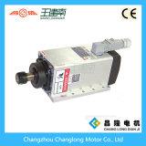 Eléctrico refrigerado por aire del huso 3.5kw Motor 18000rpm con Instalación de brida para la máquina de grabado de madera del CNC Router