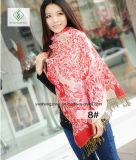 2017 più nuova sciarpa del jacquard di stile della signora Fashion Pashmina Shawl Ethnic