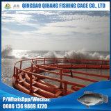 プラスチック養魚場のための紫外線材料が付いている浮遊魚のケージのHDPE