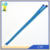 Impression verte de logo sur la lanière bleue de polyester à vendre