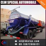 Dongfeng 6X4 18000L Vakuummist, der LKW-Klärschlamm-Transport-LKW saugt