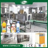 Halbautomatische heiße Dampf-Schrumpfhülsen-Etikettiermaschine