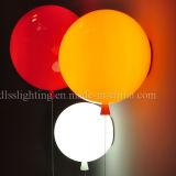 De Europese Verlichting van de Muur van de Ballon van het Glas van de Stijl Rode Binnen