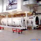 치료를 위한 3000X12000mm 항공 우주 합성 오토클레이브 탄소 섬유 (SN-CGF30120)