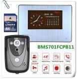 Video Portero timbre con 7 pulgadas de pantalla versión IR PIR la función de grabación de vídeo y audio