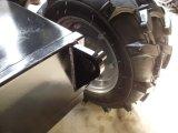 Mini carretilla de rueda del alimentador de tres ruedas para el transporte de la granja