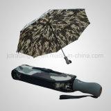 3 складывая автоматических дождь зонтика гольфа шторма Open&Close/зонтика Sun (JF-AGF309)