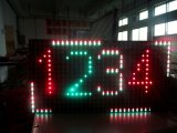 O módulo de LED Multi-Color P10, P10 Slot Dual Colour Display/Contagem de nível de Tela de LED/Display LED de piso