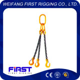 Подъемная цепь строп с тремя ногами