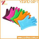 Luvas de cozinha resistentes ao calor de silicone (YB-AB-015)