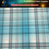 Teñido-hilado de nylon llana Comprobar Tela para las camisas al aire libre