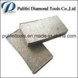 다이아몬드 돌 공구 원형 화강암은 톱날 세그먼트 대리석 절단을