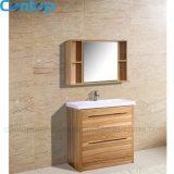 Moderner Hauptmöbel-festes Holz-Badezimmer-Schrank