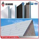 Painel composto de alumínio do material de construção PVDF do edifício da alta qualidade de Dubai
