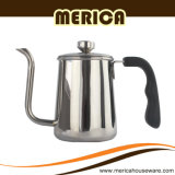 Het Koffiezetapparaat van het roestvrij staal Met de Pot van de Koffie van de Hand