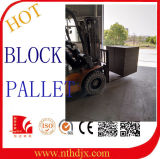 Aufbereiten und preiswerter Preis-konkrete Kleber-Block-Maschinen-Ladeplatte