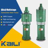 QD&Q 다단식 전기 잠수할 수 있는 수도 펌프 (4개의 임펠러에)