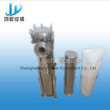 衛生ステンレス鋼の側面エントリ単一袋のカートリッジフィルター