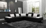 Poggiacapo moderno e bracciolo domestici del sofà del cuoio della mobilia registrabili (HC1037)