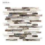 El vidrio coloreado respetuoso del medio ambiente de la venta caliente embaldosa el mosaico para la pared de la cocina