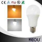 Bulbo 110lm/W AC85-265V do diodo emissor de luz de A60 A65 A70 7W 9W 12W E27