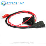 16 broches du câble de diagnostic pour FIAT 3broche à l'OBD2